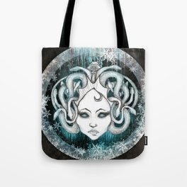 Winter Gorgon - Dark Tote Bag