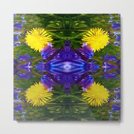 Dandy Four pattern Metal Print