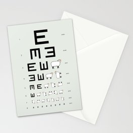 The EWE Chart Stationery Cards