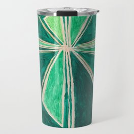 Green Cross Travel Mug