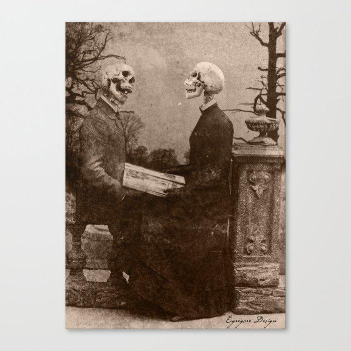 Dark Victorian Portraits: The Last Date Canvas Print