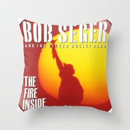 bob seger album 2020 ansel12 Throw Pillow