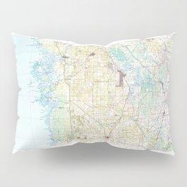 FL Inverness 346789 1979 topographic map Pillow Sham