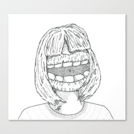 Big Mouth Canvas Print