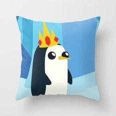 Gunter for Ice King 2012! Throw Pillow