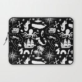 High Seas Adventure // Black Laptop Sleeve