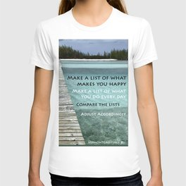 Path to Happiness T-shirt