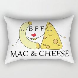 Mac & Cheese Best Friends Forever Rectangular Pillow