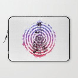 Skeleton Bullseye Laptop Sleeve