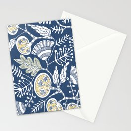 lush vine Stationery Cards