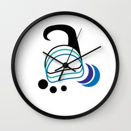 Hook Wall Clock