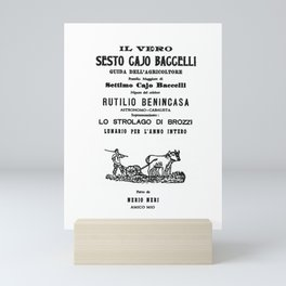 Sesto Cajo Nerio Mini Art Print