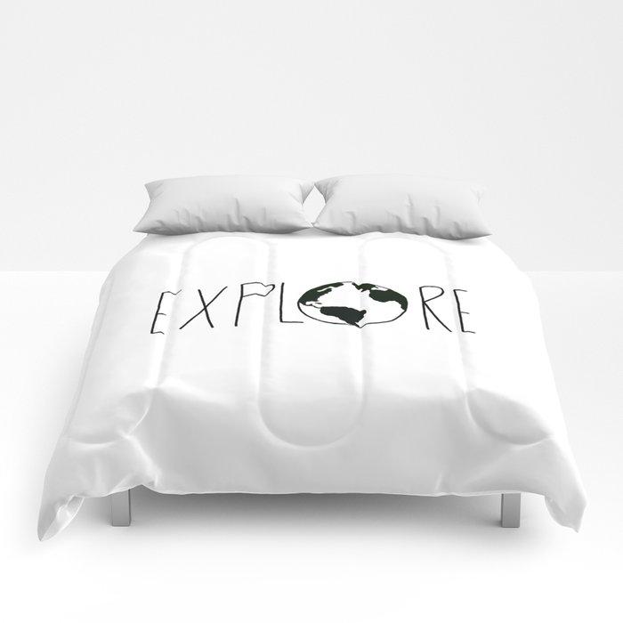 Explore the Globe x BW Comforters