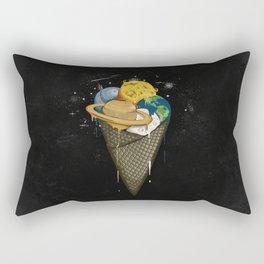 Galactic Ice Cream Rectangular Pillow