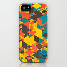 Panelscape: colours from Space Filler iPhone Case