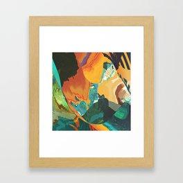 Sonic morning blast Framed Art Print