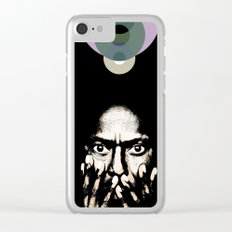 Miles, Jazz, Celebrity Portrait Clear iPhone Case