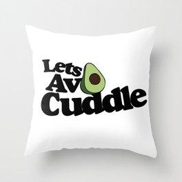 Let's AVO Cuddle Throw Pillow