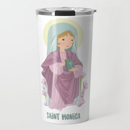 Saint Monica of Hippo Travel Mug