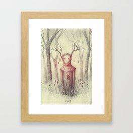Forest Freak Framed Art Print