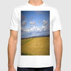 German Countryside White MEDIUM Mens Fitted Tee