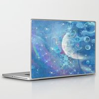 celestial Laptop & iPad Skins featuring Celestial by Geni