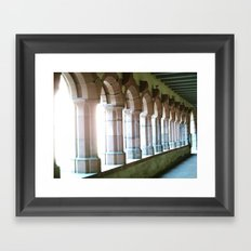 Worms abbey. Framed Art Print