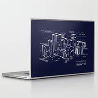 blueprint Laptop & iPad Skins featuring Blueprint by Matthew McKenna