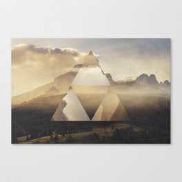 Hyrule - Power of the Triforce Canvas Print