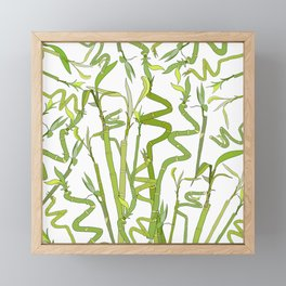 Bamboos Framed Mini Art Print
