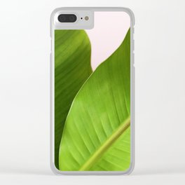 Foliage Clear iPhone Case