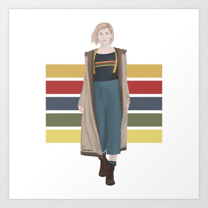Doctor Who | 13th Doctor Kunstdrucke