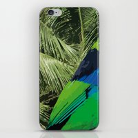 brasil iPhone & iPod Skins featuring Brasil Tropical by watermelon