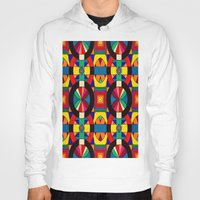 introvert Hoodies featuring Introvert/Extrovert by Art by Andrew Smith