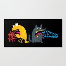Hungry! Blarrgh! Canvas Print
