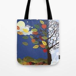 """Seasons"" Summer-Autumn Tote Bag"