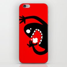 apple eater iPhone & iPod Skin