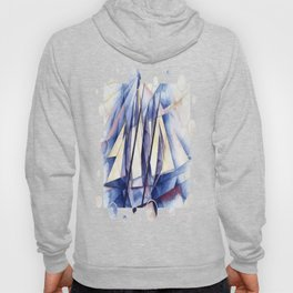 Sail In Two Movements After Charles Demuth Hoody