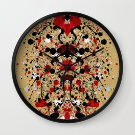 Something Deep Wall Clock