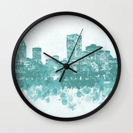 Design 89 Cityscape Wall Clock