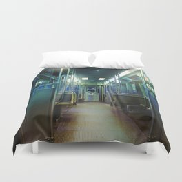 Ghost Train Duvet Cover