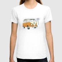 volkswagen T-shirts featuring Volkswagen by Valesca van Waveren