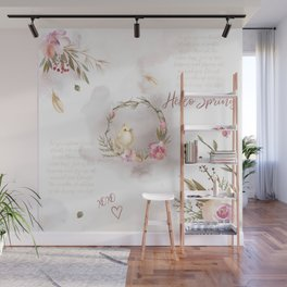 Hello Spring_01 Wall Mural