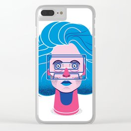 See through music Clear iPhone Case