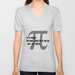 Engineer Skills Unisex V-Neck