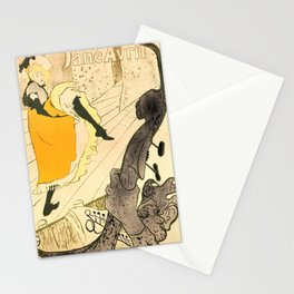 "Henri de Toulouse-Lautrec ""Jane Avril"" Stationery Cards"