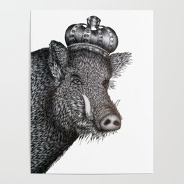 The Boar King Poster