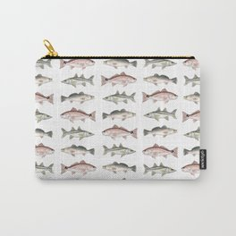 Pattern: Inshore Slam ~ Redfish, Snook, Trout by Amber Marine ~ (Copyright 2013) Carry-All Pouch