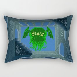 Cthulhu is rising Rectangular Pillow