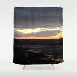 Sunset on the St-Lawrence Shower Curtain